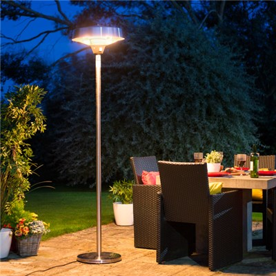 2100W Halogen Bulb Electric Patio Heater