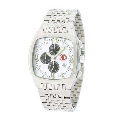 MG Gent's Chronograph Watch with Stainless Steel Bracelet