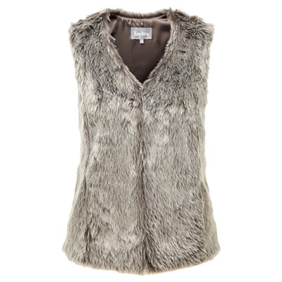 Lavitta Fake Fur Gilet 25in