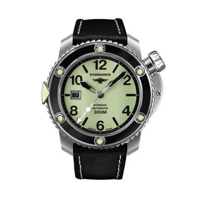 Sturmanskie Gent's Ocean Stingray Automatic Watch with Genuine Leather Strap
