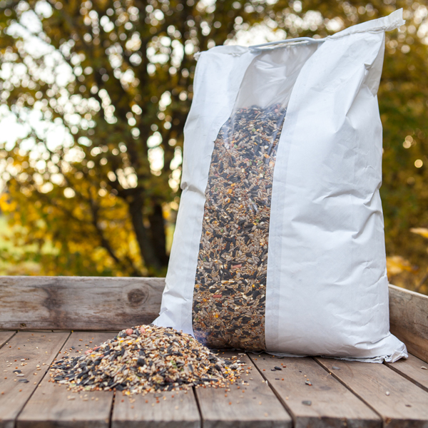 DeLuxe 14 Seed Wild Bird Food Mix 12.75kg Bag No Colour