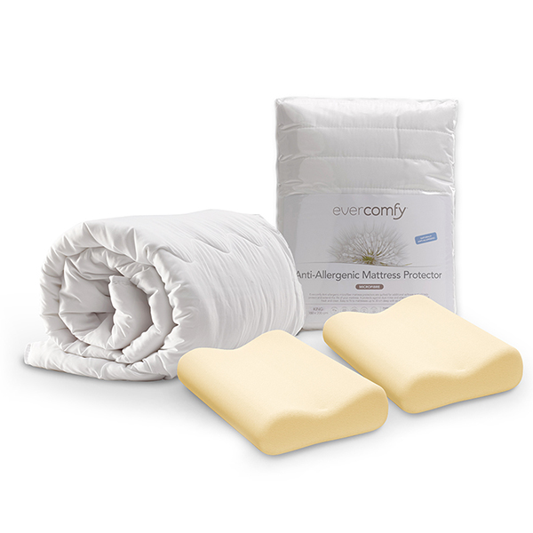 Dormeo Evercomfy Complete Bedding Bundle (King) No Colour
