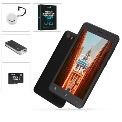 STK Sync 5z 5 inch Smartphone plus Powerbank MicroSD Card and Selfie Disc