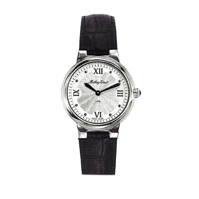 Mathey-Tissot Ladies' Le Blanc Watch with Genuine Leather Strap