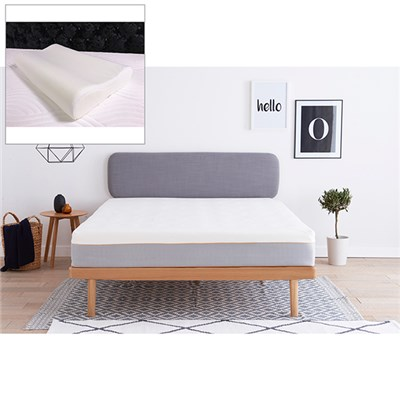 Dormeo Hybrid Latex Single Mattress with Free Wellsleep Anatomic Pillow