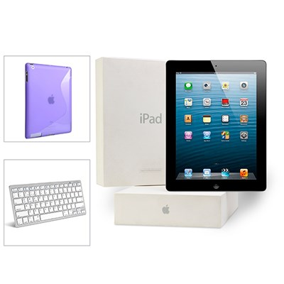 Apple iPad 3 Silicone Case BT Keyboard