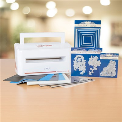 Craftwell Cut 'N' Boss Die Cutting Machine with Tattered Lace Dies