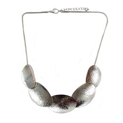 Oval Collar Necklace