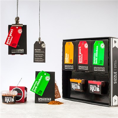 Spicentice Sizzle Gift Box