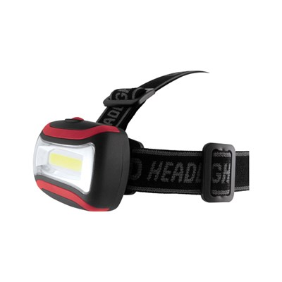 COB LED Head Torch (includes batteries)