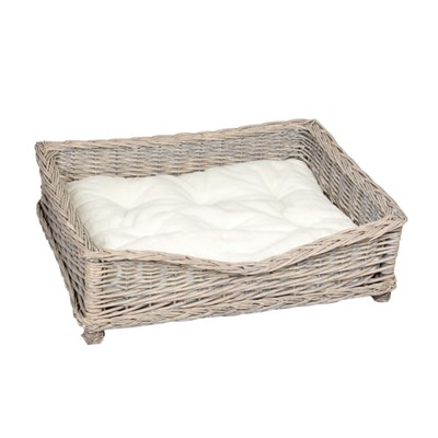 Banbury and Co Square Willow Pet Basket S/M