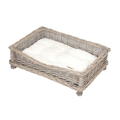 Banbury and Co Square Willow Pet Basket M/L
