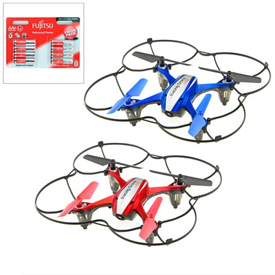 Racing Drone Twinpack with Batteries
