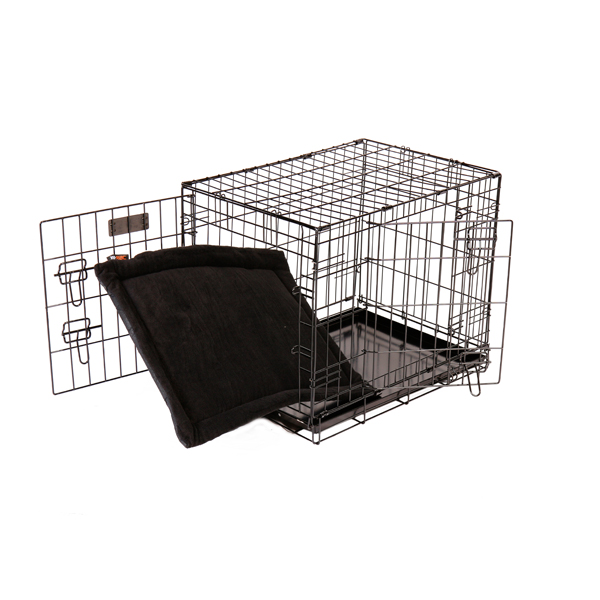 RAC Advanced Metal Fold Flat Steel Crate - Medium No Colour