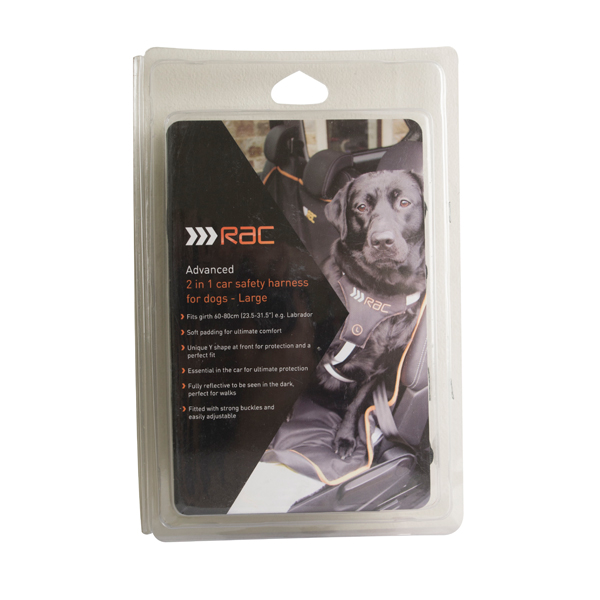 RAC Advanced Harness - Large No Colour