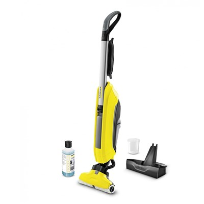 Karcher FC5 Hardfloor Cleaner with Stand and Detergent