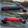 Tough Tugger TPR Sleeved Rope Red