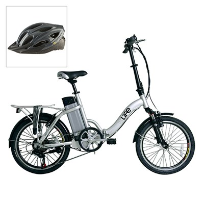 Elife Explorer 36v 250w Electric Folding Bike with 20inch Wheel with FREE Elife Bike Helmet