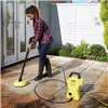K2 Compact Home & Car plus WV Easy Window Vacuum, Patio Cleaner & 3 x 500ml Detergents