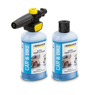 Karcher FJ10C Adjustable Foam Sprayer and 1L Ultra Foam Detergent