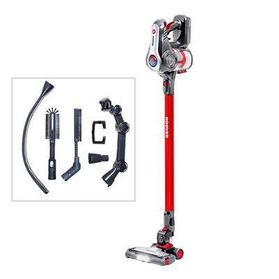 Hoover Discovery Red Cordless Vacuum with Accessory Pack
