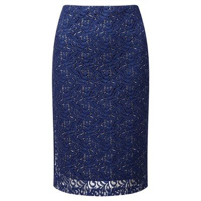 Lavitta Sparkle Lace Pencil Skirt 24in