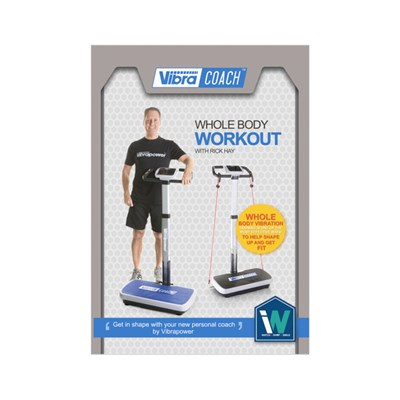 Vibrapower Coach Whole Body Workout DVD (approx. run time 70 mins)