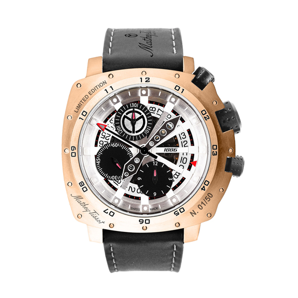 Image of Mathey-Tissot Gent's Limited Edition Storm with ETA Valjoux 7750 Movement and Titanium Case