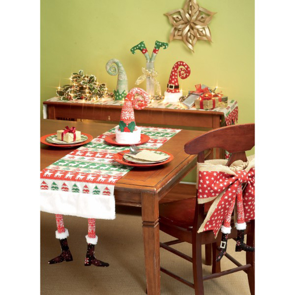 Mccalls patterns m7524 christmas table runners for Instructions to make christmas table decorations