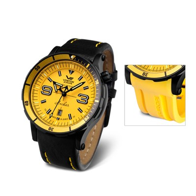 Vostok Europe Gents Anchar Automatic Watch with Interchangeable Strap