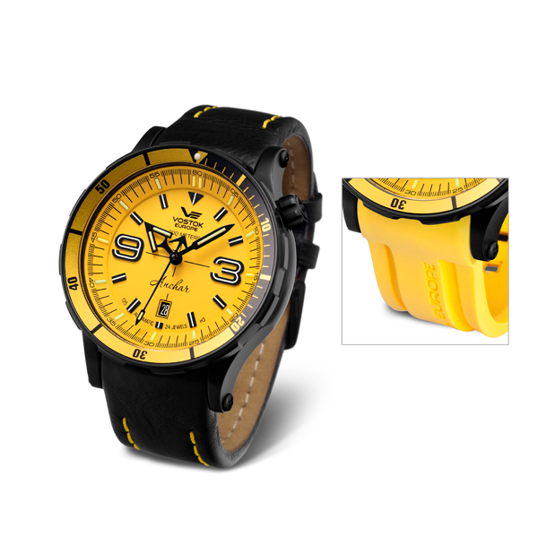 £70 off Vostok Europe Gent's Anchar Automatic Watch with Interchangeable Strap