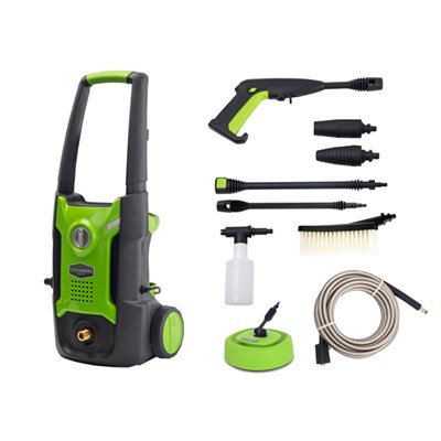 Greenworks G2 Garden Pressure Washer with Patio Cleaner, Brush and Foamer