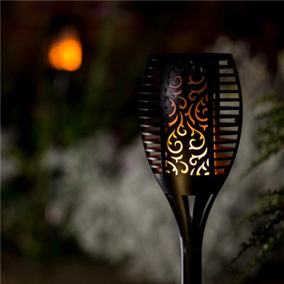 True Flame Solar Torch Light