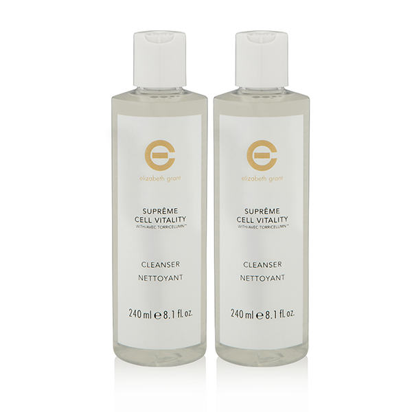 Elizabeth Grant Supreme Cleansing Twinpack No Colour