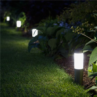 Mini London Set of 4 Solar Post Lights