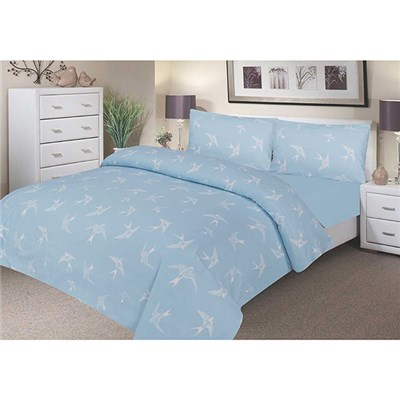 Platinum Beauty Waterproof Double Duvet Cover Set including 2 x Pillow Cases