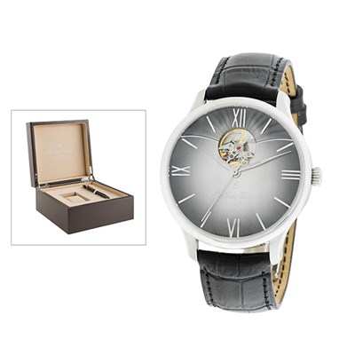 Mathey-Tissot Gent's Limited Edition Edmond with MS11 Movement, Genuine Leather Strap with Luxury Box and Caran Dache Pen