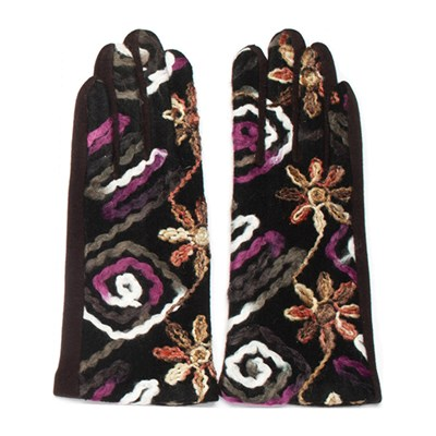 Embroidered Gloves