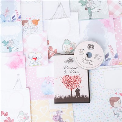 My Craft Studio Romance and Roses CD ROM with Limited Edition Insert Pack