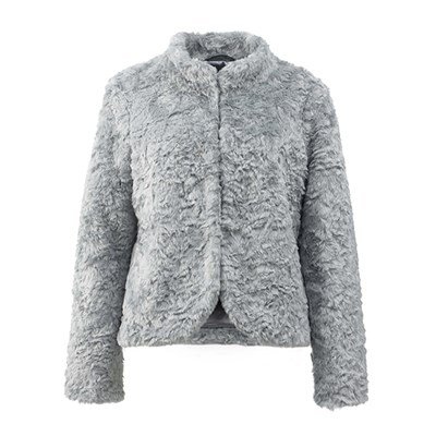 Lavitta Fake Fur Short Jacket 24.5In