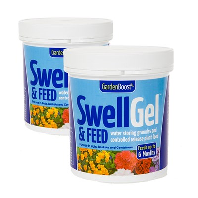 Garden Boost Swell Gel and Feed 500g (Twin Pack)