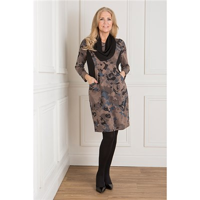 Nicole Illusion Tunic with Snood