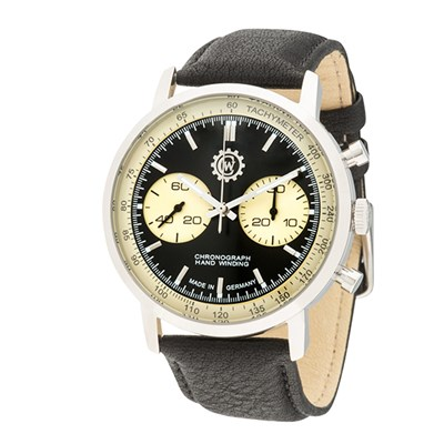 Constantin Weisz Gent's Limited Edition (to 199pcs) Chronograph Watch with Genuine Leather Strap