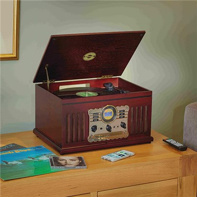 Steepletone Westminster Nostalgia 3-Speed Record Player