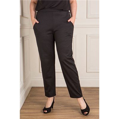 Nicole Ponte Trouser with Pockets