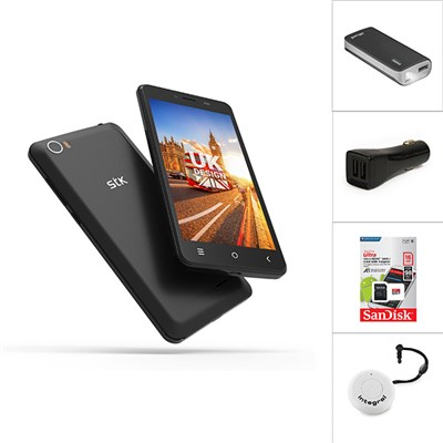 STK Sync 5z Smartphone, SD Card, Power Bank, Car Charger and Selfie Disc