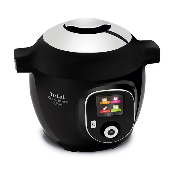 Tefal Cook4Me+ Connect One-Pot Digital Cooker No Colour