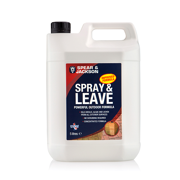 spear jackson spray and leave 5l with 2l pressure