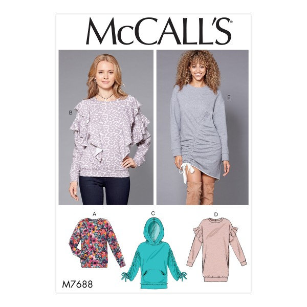 McCalls Patterns M40 Misses Knit Tops And Dresses 40 Ideal Awesome Mccalls Patterns
