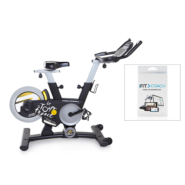 proform tour de france 1 0 indoor cycle trainer with free. Black Bedroom Furniture Sets. Home Design Ideas